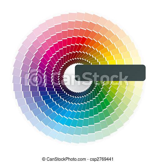 Color wheel - csp2769441