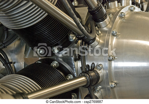 Radial aircraft engine - csp2769887