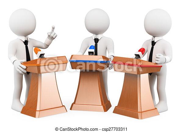 Debate Politics Clip Art