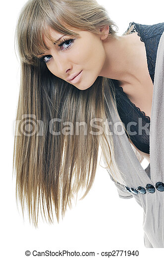 woman fashion portrait - csp2771940