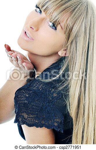 woman fashion portrait - csp2771951