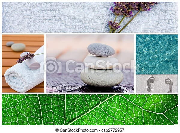 Spa background tranquil scene - csp2772957