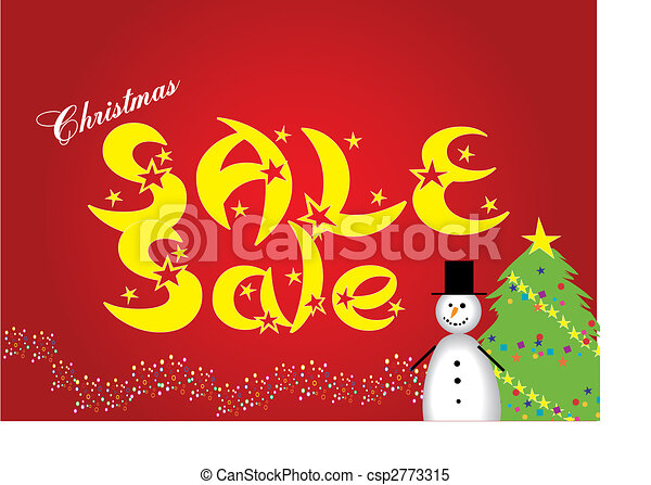 Christmas sale - csp2773315