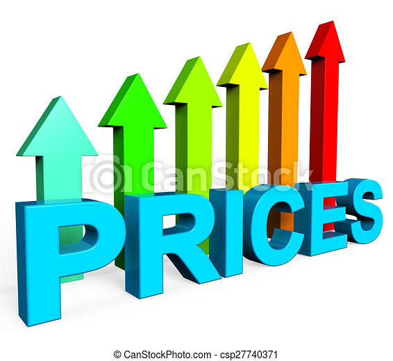 Stock Illustrations Of Prices Increase Represents