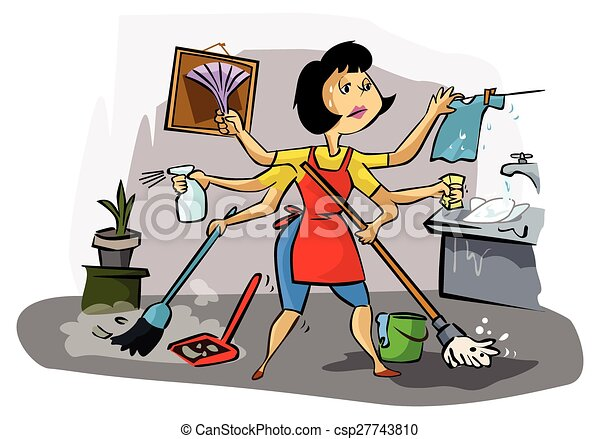 how to clean your home fast for busy moms