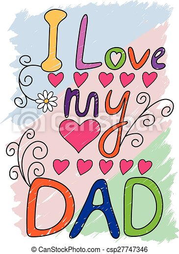 I love my dad t shirt typography vector eps instant - I love you daddy download ...