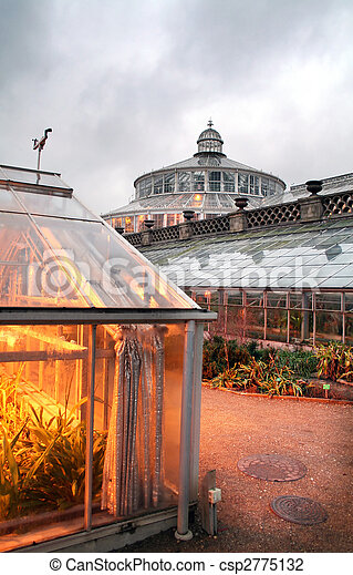 stock foto von kopenhagen botanischer garten botanical kleingarten in csp2775132. Black Bedroom Furniture Sets. Home Design Ideas