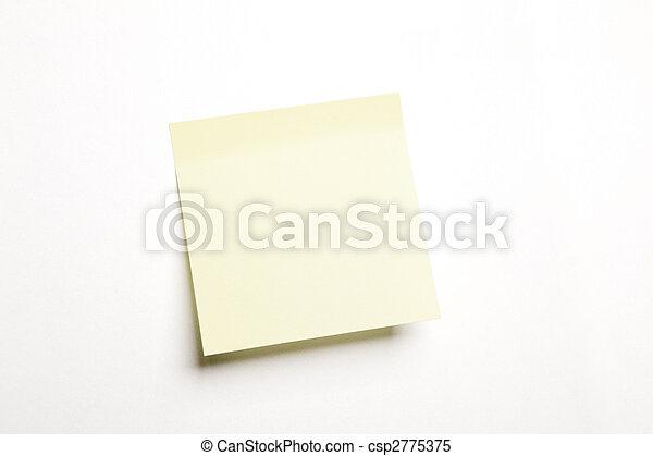 blank notice - csp2775375