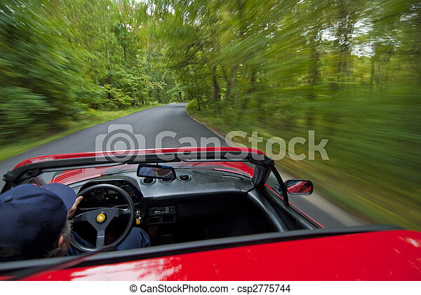 Country driving - csp2775744