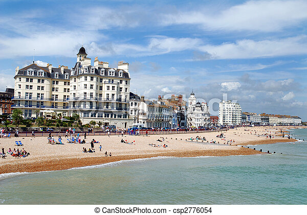 English seaside town - csp2776054