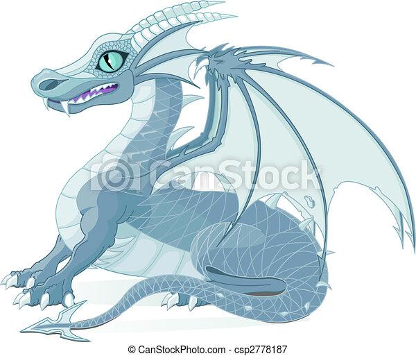 Fantasy Dragon - csp2778187