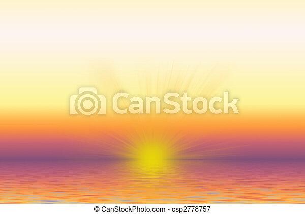 Sunrise Sunset - csp2778757