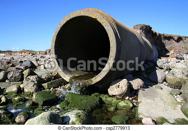 waste pipe sewage - csp2779913