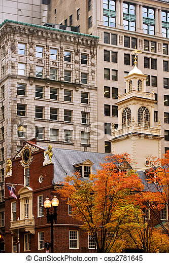 Boston Freedom Trail - csp2781645