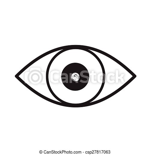 Sunglasses Clipart Black And White Clip Art Vector of eye...