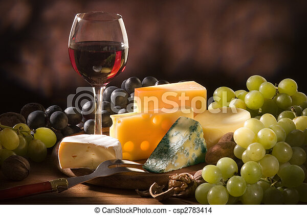 Various types of cheese composition  - csp2783414