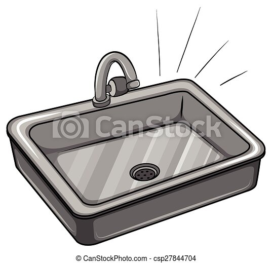 Clip Art Sink Clip Art kitchen sink illustrations and clipart 2407 royalty a on white background