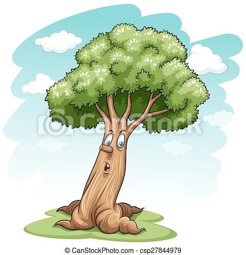 A big tree - csp27844979