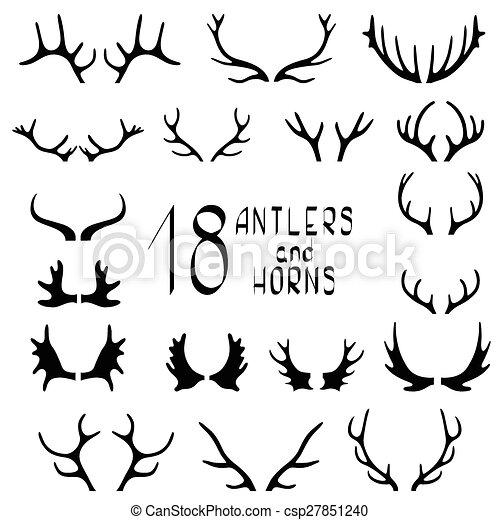 Skull Head additionally Cranio Tribale Elementi 5527587 moreover Antler Stencil likewise Antler Set also What Is Student Of The Week. on deer skull clip art