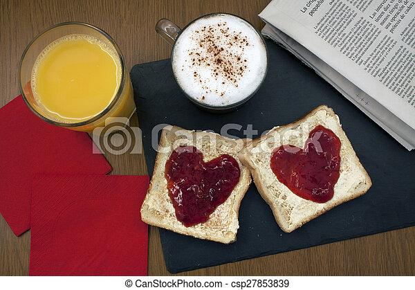 photos de romantique petit d jeuner pr par romantique petit csp27853839 recherchez. Black Bedroom Furniture Sets. Home Design Ideas