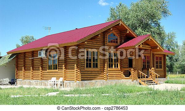 Photos de bois grand maison porche de les grand for Porche de maison en bois