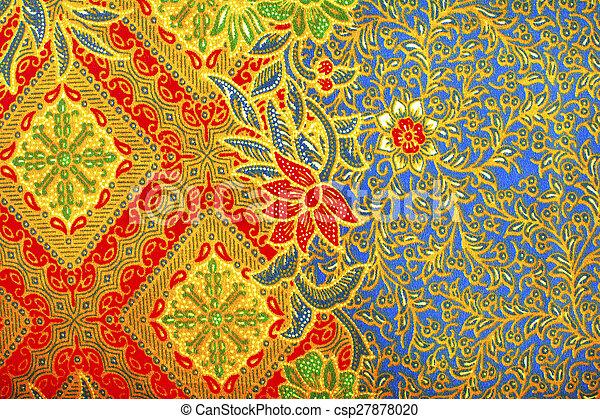 ... Photo - The beautiful of art Malaysian and Indonesian Batik Pattern