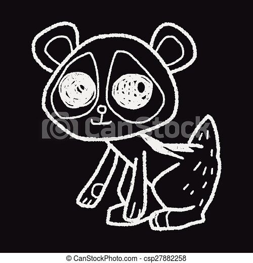 Clipart Vector of tarsier doodle csp27882258 - Search Clip ...