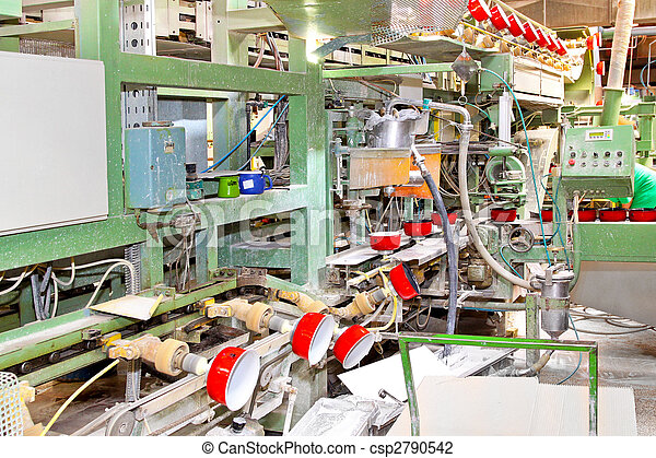 Pot factory line - csp2790542