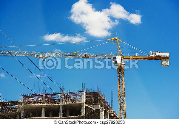 Hospital building under constructio