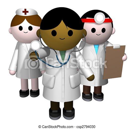 Medical team - csp2794030