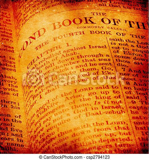 Bibbia, santo - csp2794123