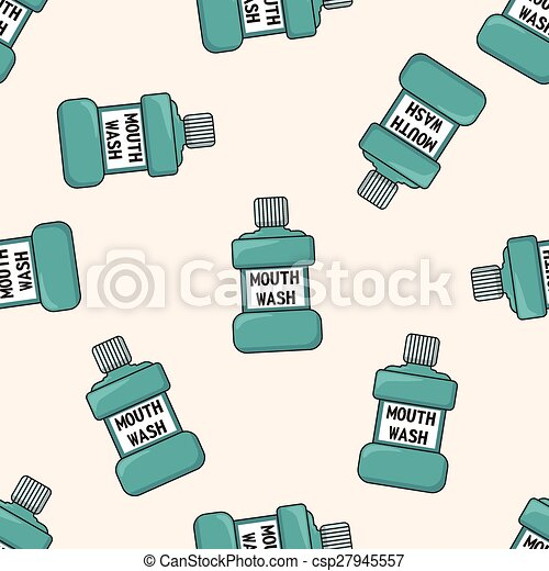 Clipart Vector of Mouthwash theme elements csp27945557 - Search ...