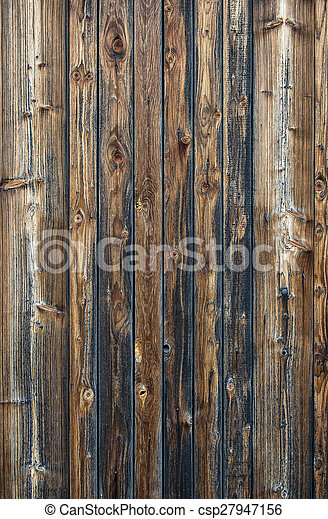 Aged wooden panel background. Wallpaper pattern texture