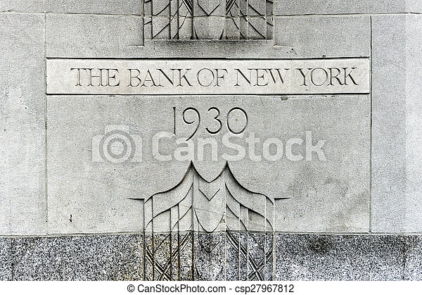 The Bank of New York Building - csp27967812
