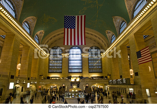 Central Station New York - csp2797500
