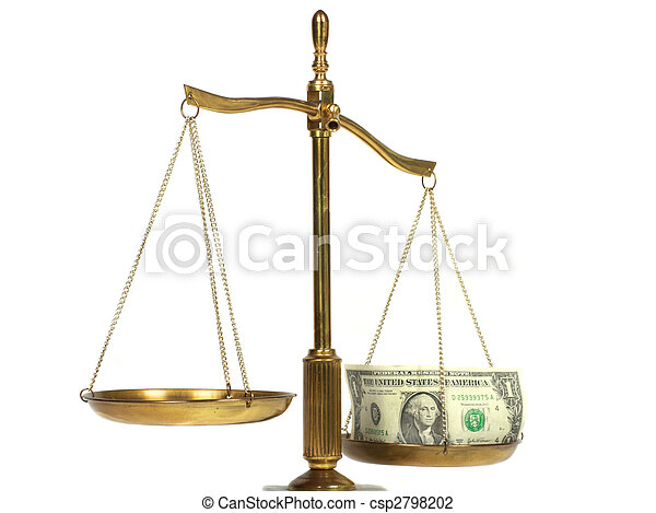 Justice and money - csp2798202