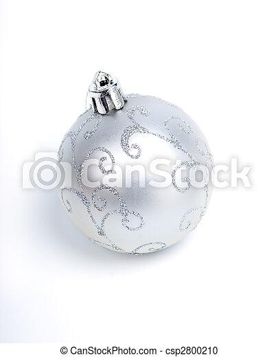 Christmas balls .embellishment cristmas. - csp2800210