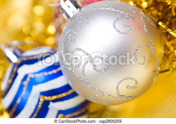 xmas tree decoration , bright embellishment - csp2800259