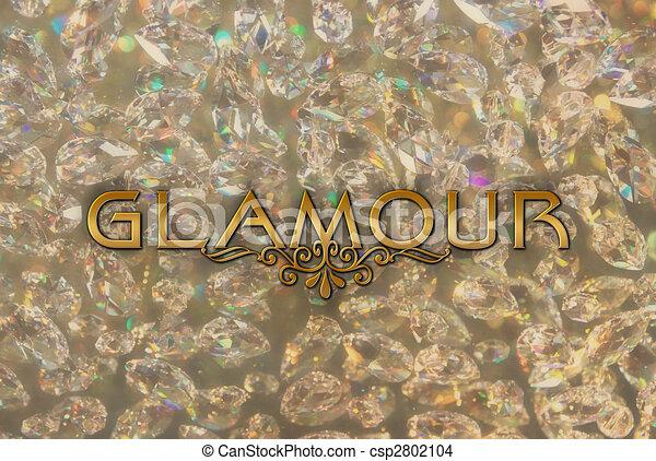 glamour - word - csp2802104