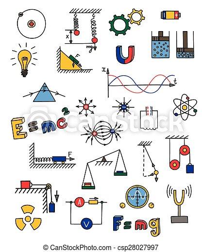 eps vektoren von physik  ikone hand  gezeichnet physics clip art free physics clip art free