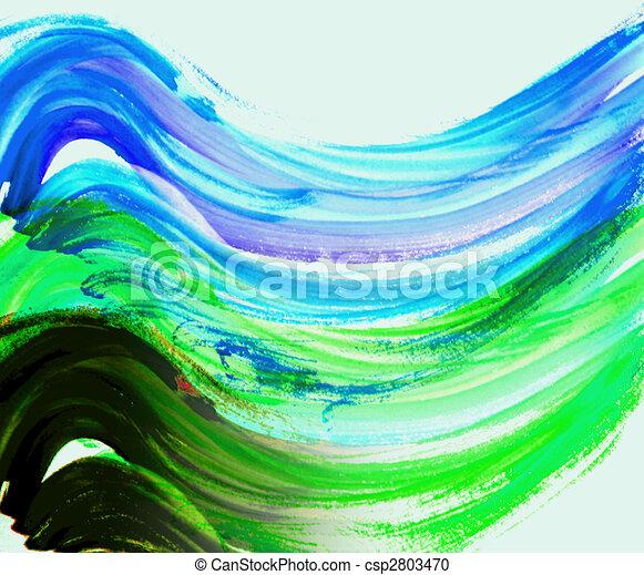 oil painting - csp2803470