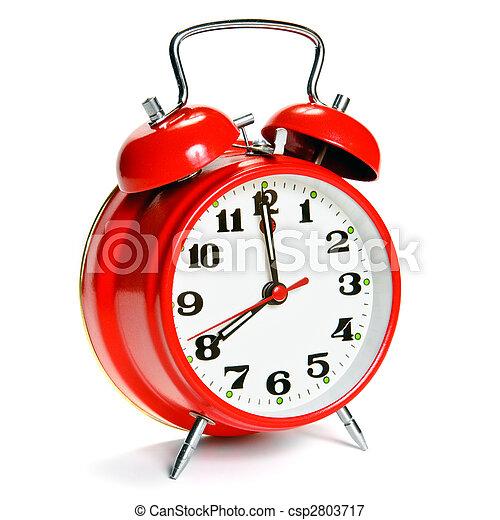 Vintage alarm clock - csp2803717