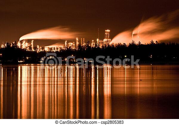 Industrial refinery - csp2805383