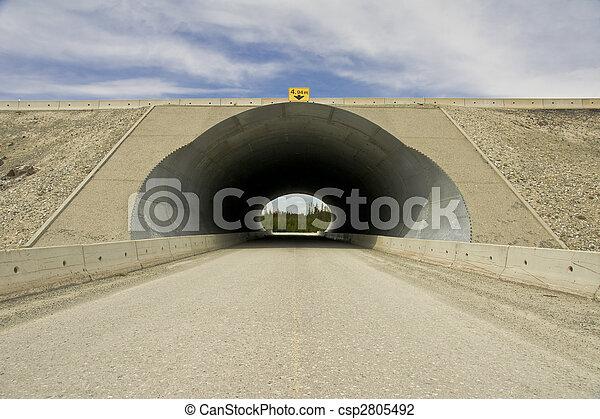 Highway underpass - csp2805492