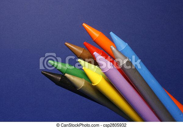 鉛筆, 上色 - csp2805932