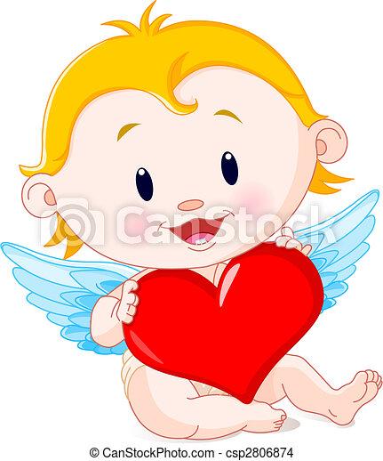 vettore eps di cupido  angelo vettore  illustrazione  di Free Happy Valentine Boss free cupid clipart images