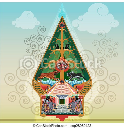 Tree of Life vector - csp28089423