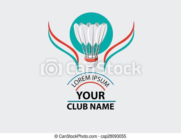 Logo for Badminton Club - csp28093055