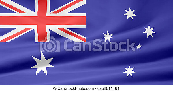 Flag of Australia - csp2811461