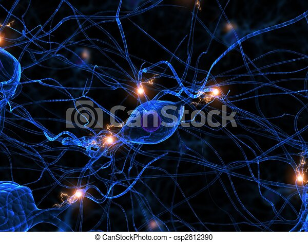 active nerve cell - csp2812390